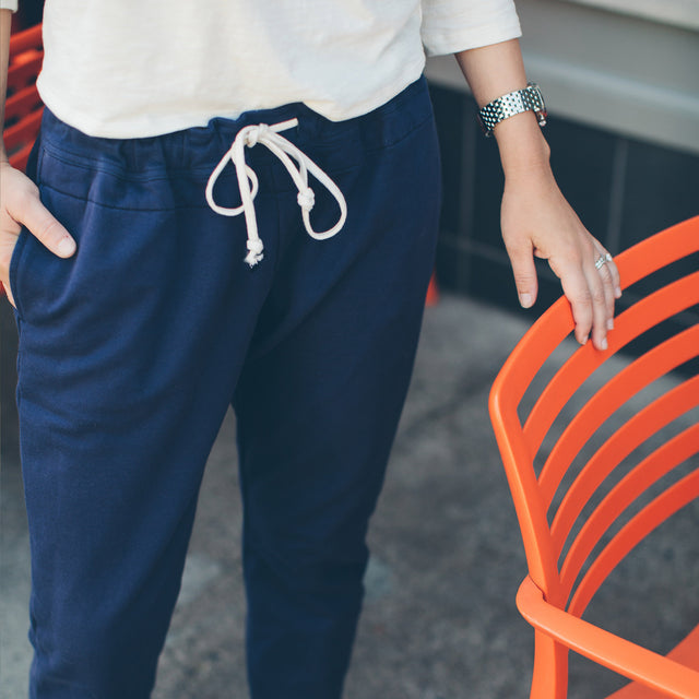 The Weekend Pant in Navy