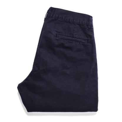 The Slim Chino in Organic Navy: Alternate Image 6