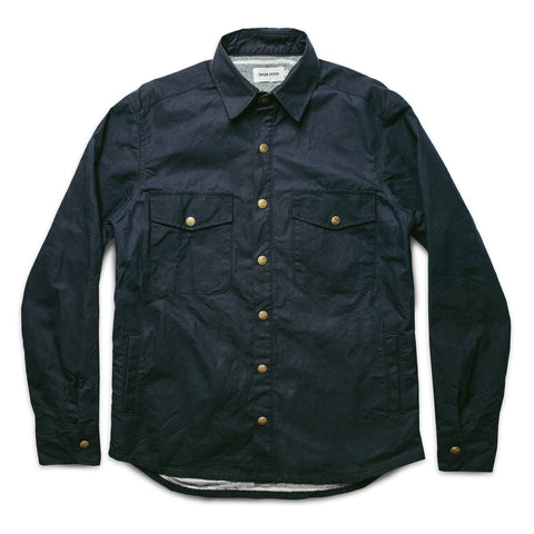 The Chore Jacket in Navy Dry Wax Canvas - featured image