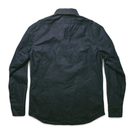 The Chore Jacket in Navy Dry Wax Canvas: Alternate Image 9