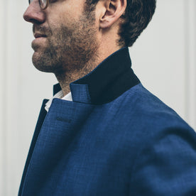 The Telegraph Jacket in Cobalt: Alternate Image 2