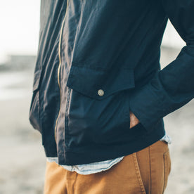 The Beach Jacket in Navy: Alternate Image 2