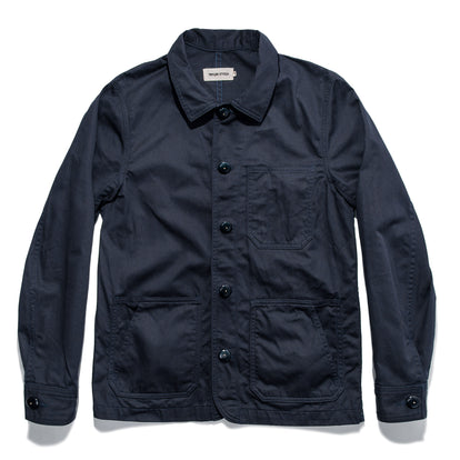 The Ojai Jacket in Indigo: Featured Image