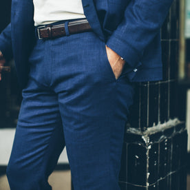 The Telegraph Trouser in Cobalt: Alternate Image 2
