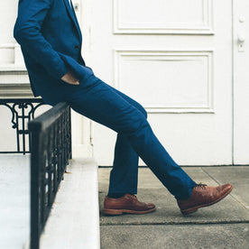The Telegraph Trouser in Cobalt: Alternate Image 3