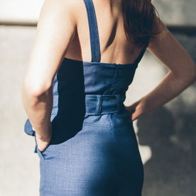 The Frankie Jumpsuit in Cobalt: Alternate Image 4
