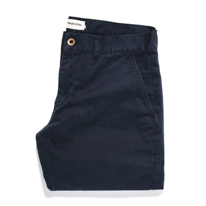 The Slim Chino in Organic Navy: Featured Image