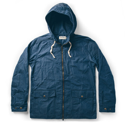 The Beach Jacket in Indigo Chambray - featured image