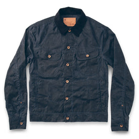 The Long Haul Jacket in Navy Waxed Canvas: Featured Image