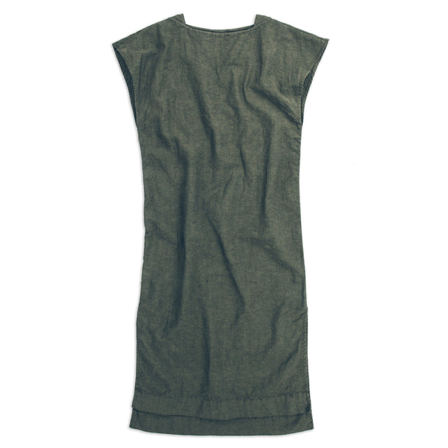 The Loma Dress in Olive