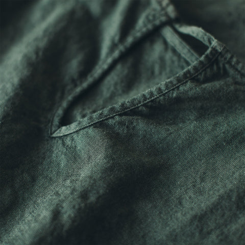 The Loma Dress in Olive - alternate view