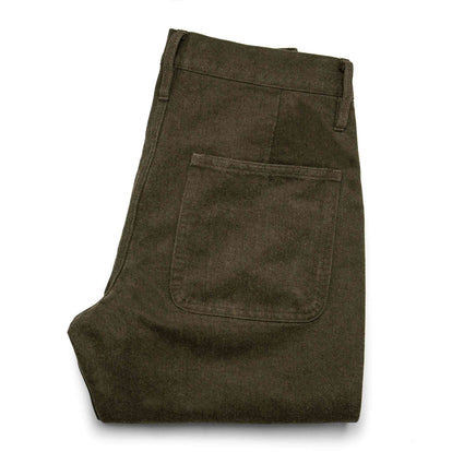 The Camp Pant in Heather Olive Twill: Alternate Image 8
