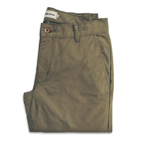 The Travel Chino in Olive - featured image