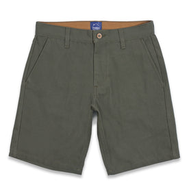 The Camp Short in Moss Duck Canvas: Featured Image