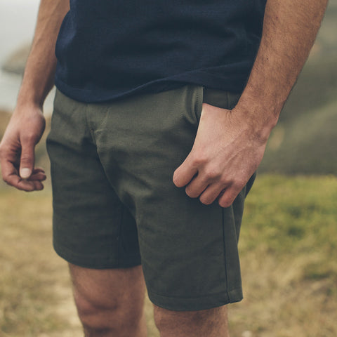 Moss Duck Canvas Camp Shorts - alternate view