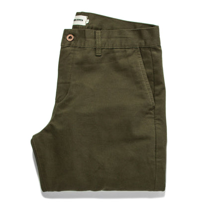 The Democratic Chino in Organic Olive: Featured Image