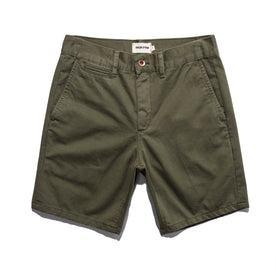 The Travel Short in Army: Featured Image