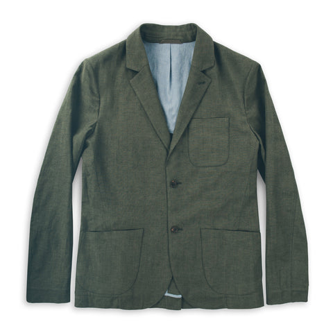 The Telegraph Jacket in Olive - featured image