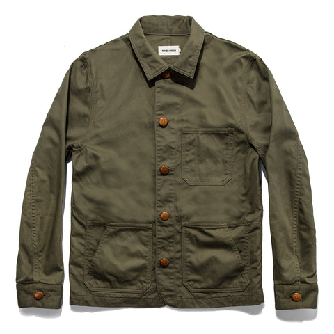 The Ojai Jacket in Olive - featured image