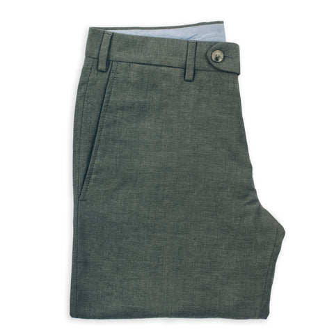 The Telegraph Trouser in Olive - featured image