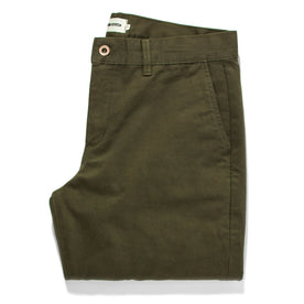 The Slim Chino in Organic Olive - featured image