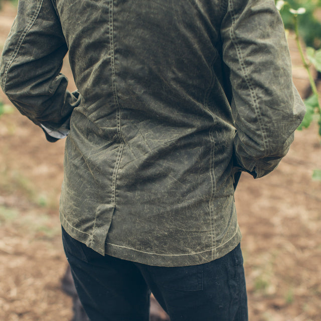 The Project Jacket in Olive