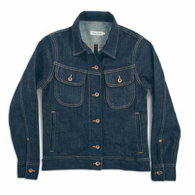The Pacific Jacket in Cone Mills Stretch Selvage: Featured Image
