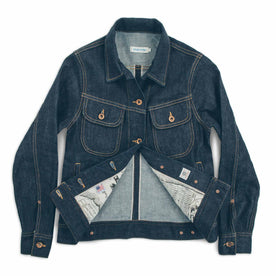 The Pacific Jacket in Cone Mills Stretch Selvage: Alternate Image 6