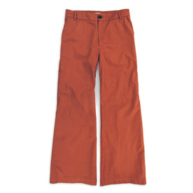 The Greenwich Pant in Rust: Featured Image