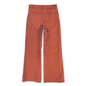The Greenwich Pant in Rust: Alternate Image 6