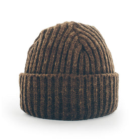 The Merino Wool Beanie in Pinecone: Featured Image