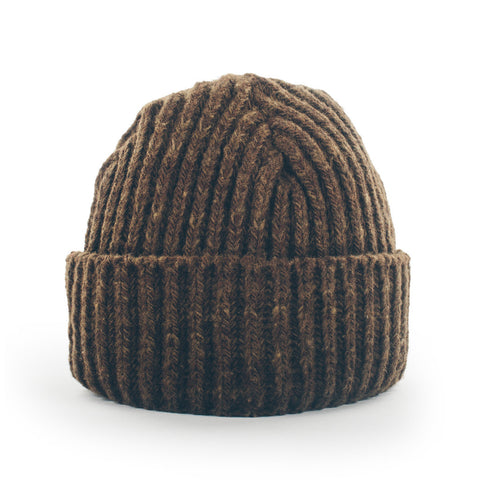 The Merino Wool Beanie in Pinecone - featured image