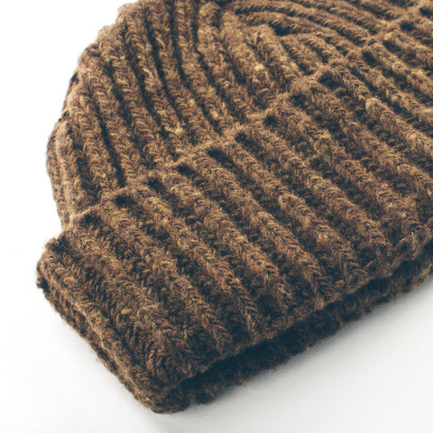 The Merino Wool Beanie in Pinecone - alternate view