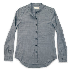 The Piper Shirt in Ash Grey Check: Featured Image