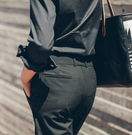 The Parsons Pant in Noir: Alternate Image 3