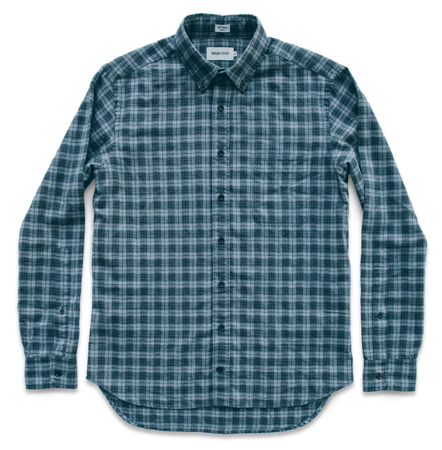 The Jack in Grey & Hunter Green Plaid