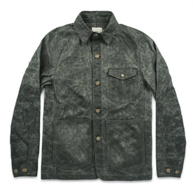 The Project Jacket in Olive Beeswaxed Canvas: Featured Image