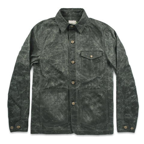 The Project Jacket in Olive Beeswaxed Canvas - featured image