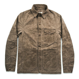 The Project Jacket in Field Tan Beeswaxed Canvas: Featured Image