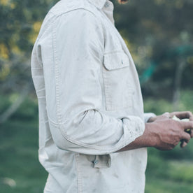 The Chore Shirt in Natural: Alternate Image 3