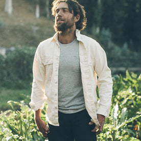 The Chore Shirt in Natural: Alternate Image 5