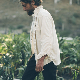 The Chore Shirt in Natural: Alternate Image 7