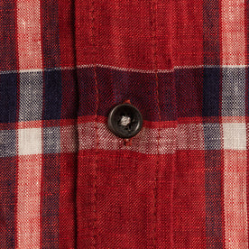 The Short Sleeve Jack in Crimson Plaid: Alternate Image 7