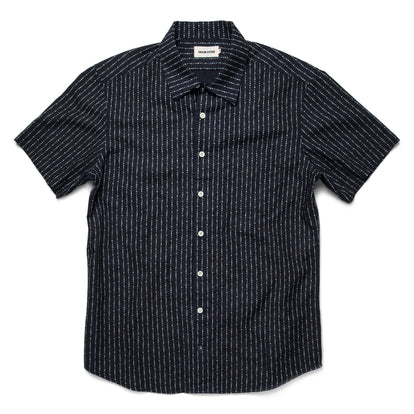 The Short Sleeve Hawthorne in Indigo Moon Phase: Featured Image