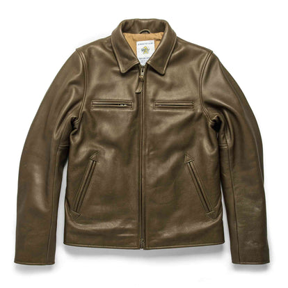 The Moto Jacket in Loden Steerhide: Featured Image