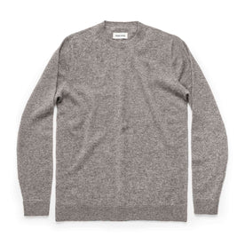 The Lodge Sweater in Light Grey: Featured Image