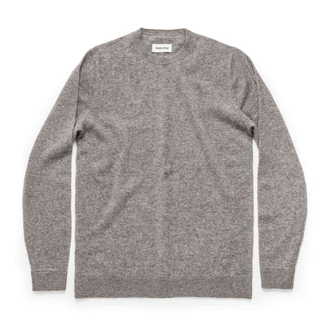 The Lodge Sweater in Light Grey - featured image