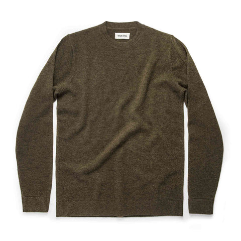 The Lodge Sweater in Army - featured image
