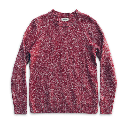 The Summit Sweater in Red - featured image