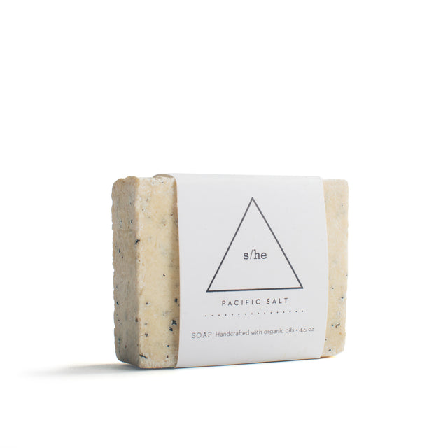 s/he Rosemary Salt Soap